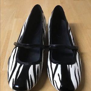 Cole Haan and Nike Air Zebra  Print Pony